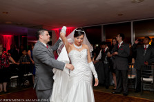 bride and groom first dance at city club dallas fort worth