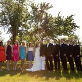 denton wedding group portrait