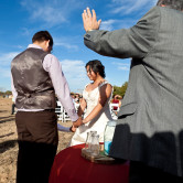 christian outsoor ceremony destination wedding