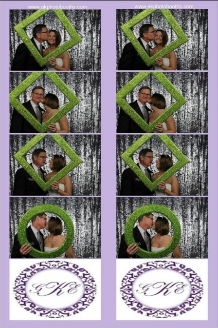 Photo Booth Pictures From Beautiful December Wedding With Christmas Theme At The Gaylord Texas Hotel In