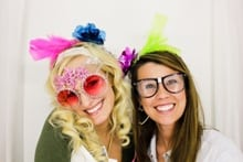 fun photo booth picture from wedding in dallas fort worth texas from a & k photo booth rental company