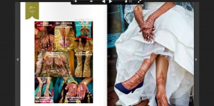 dallas wedding henna wedding party photo published nationally in south asian bride magazine