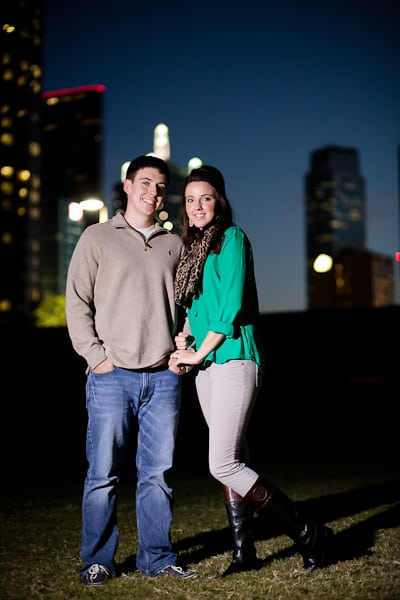 Matt And Shelby S Dallas Engagement Session Photos