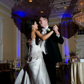 last dance by bride and groom at arlington hall wedding in dallas texas