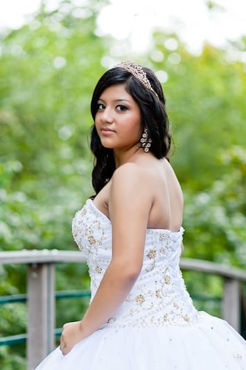 Fort Worth quinceanera photographer portraits