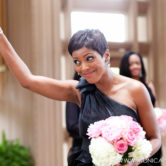 Tamron Hall at Marty Leonard Chapel wedding in Fort Worth TX