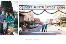 christmas family portraits at the fort worth stockyards