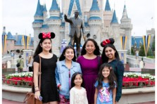 Anysa's 15th destination birthday event at Walt Disney World in Orlando, Florida