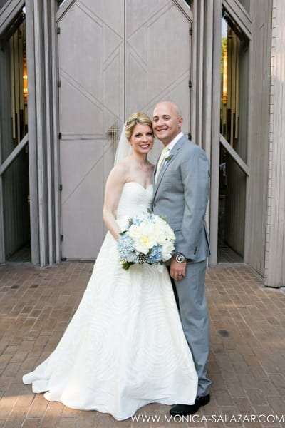 wedding photo of marty leonard at marty leonard chapel in fort worth tx by fort worth wedding photographer