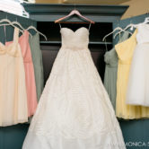 wedding dress and bridesmaids dresses at etta