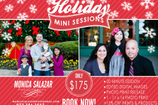 Dallas and Fort Worth Holiday and Christmas portrait mini sessions