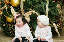 Christmas portraits in Dallas, TX