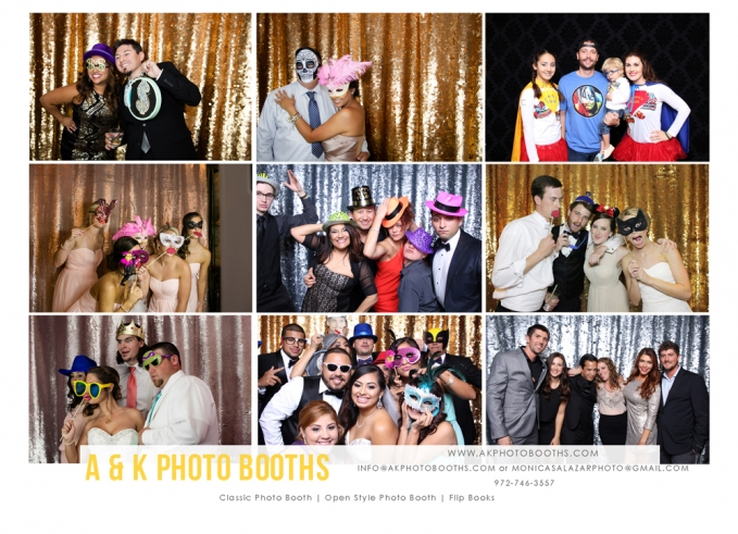 Dallas Wedding Photographer | Photo Booth Rentals | Monica Salazar Photography | Fort Worth Wedding Photographer