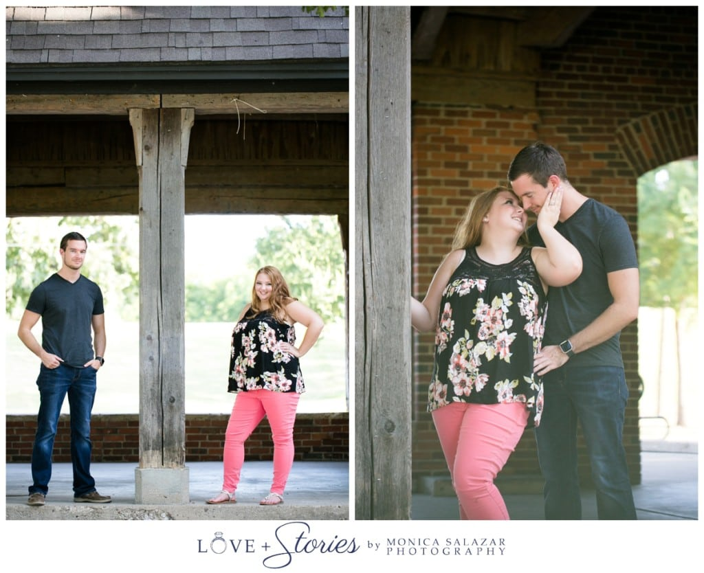 Shealana Tylers Fort Worth Engagement Photos In Sundance Square