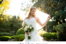 Gorgeous sunset bridal session in Fort Worth, Texas.