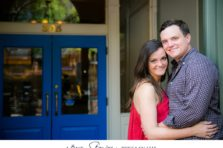 Fort worth engagement photographer with photos at Sundance Square