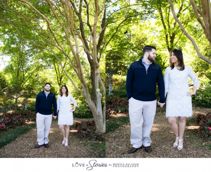 Dallas engagement session photography by Monica Salazar. Jackie and Jonathan