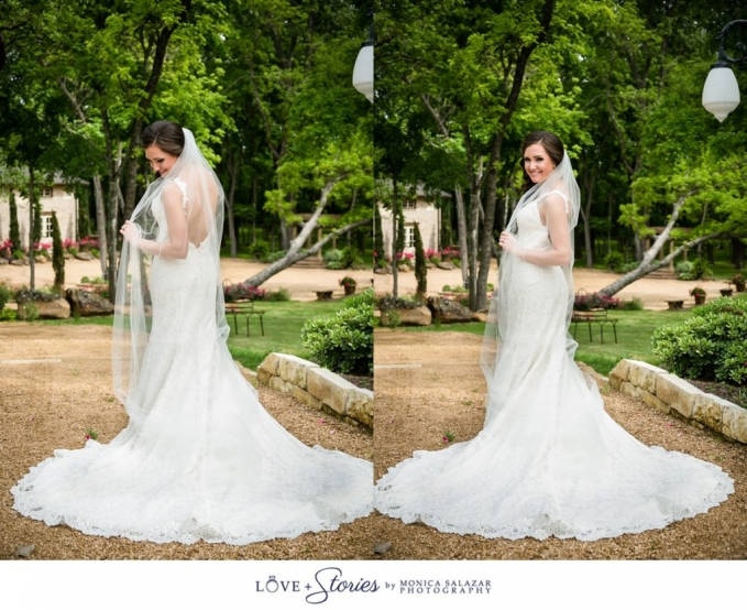 Masey bridal portraits by Dallas Fort Worth wedding photographer Monica Salazar Photography_0019