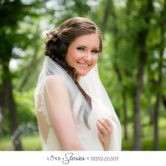 Bridal portraits outdoors at Hidden Waters wedding venue by Monica Salazar Photography. Dallas Fort Worth wedding photographer.