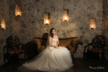 Aristide Mansfield bridal portraits and wedding photography.