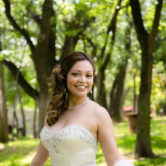modern bride at aristide wedding venue in mansfield for bridal portraits