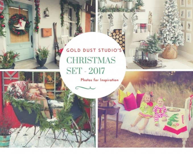 Christmas Mini Sessions Studio by Monica Salazar Photography